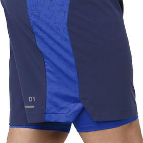 "asics 2-N-1 7"" Shorts Herren indigo blue/illusion blue"